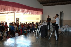 Palestra na Escola Maria Tâmara