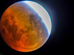 Eclipse Lunar - Matureia 2015 - Foto: Renato Bandeira