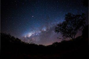 Via Láctea no céu de Maturéia - Foto: Allysson Macário