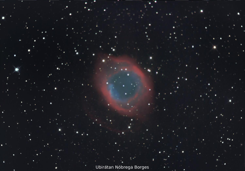 Nebulosa da Hélice - Foto: Ubiratan Nóbrega