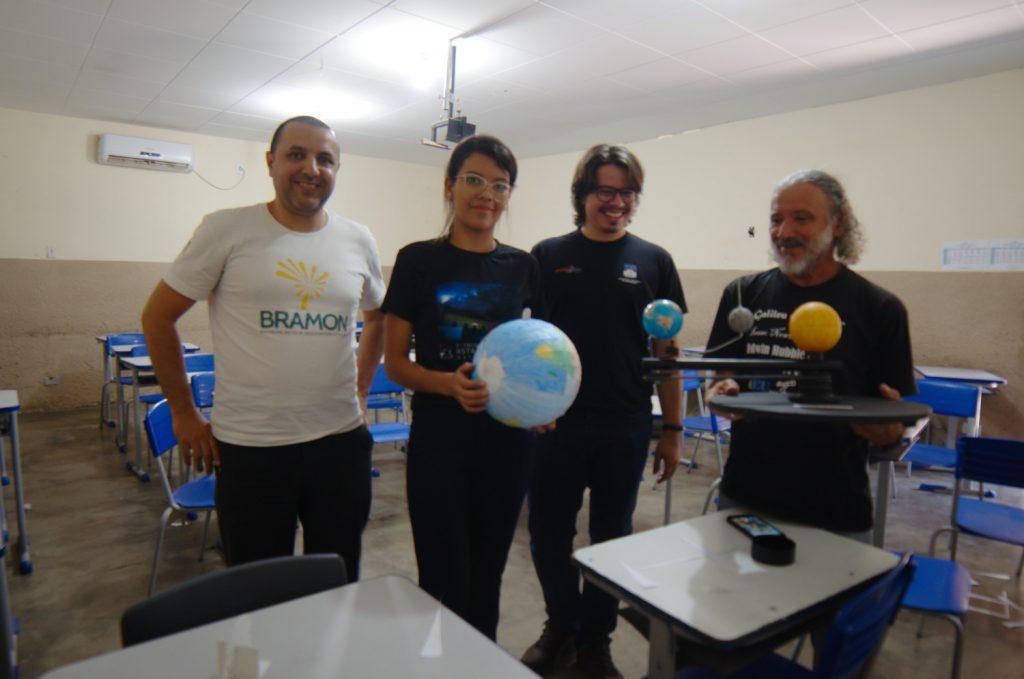 Equipe da APA em Maturéia - Marcelo Zurita, Nívea Maria, Renato Bandeira e Marcos Jerônimo
