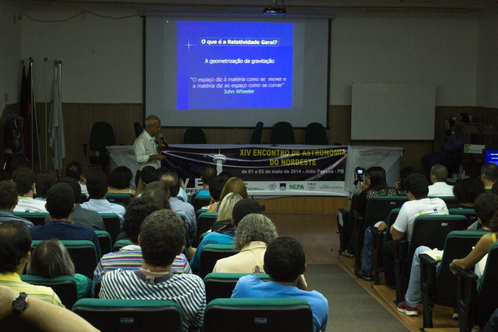 Palestra durante XIV EANE em João Pessoa, 2014