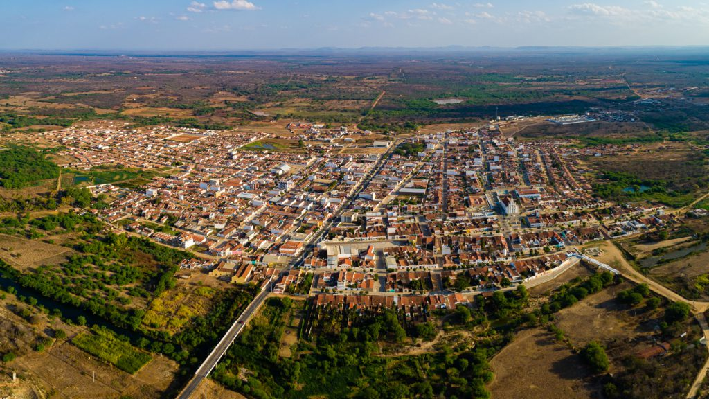 Vista aérea de Taperoá - Foto: Francisco Mendes