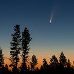 Cometa C/2020 F3 (Neowise) fotografado a partir de Oregon, EUA - Créditos: Steve Peters